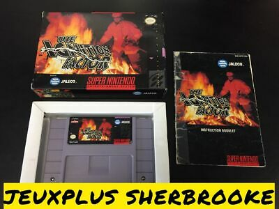 Ignition Factor (Super Nintendo Entertainment System SNES, 1994) COMPLETE IN BOX