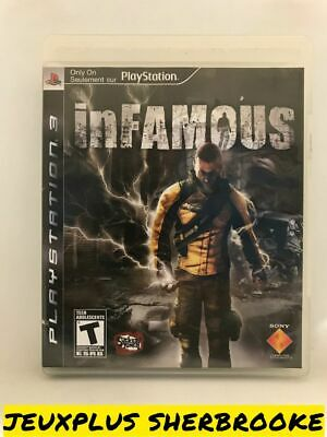 inFamous (Sony PlayStation 3 PS3, 2009) (COMPLETE IN BOX)
