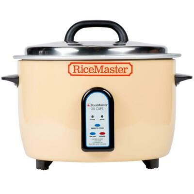 Town 50 Cup (25 Cup Raw) Electric Rice Cooker / Warmer - 120V, 1700W