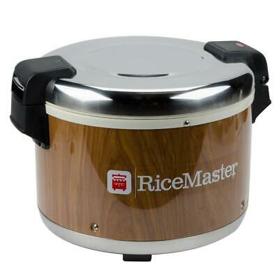 Town 72 Cup Commercial Rice Warmer with Woodgrain Finish - 120V