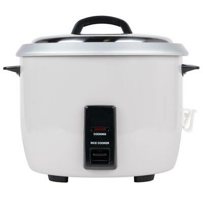 Winco 60 Cup (30 Cup Raw) Commercial Rice Cooker - 120V, 1550W