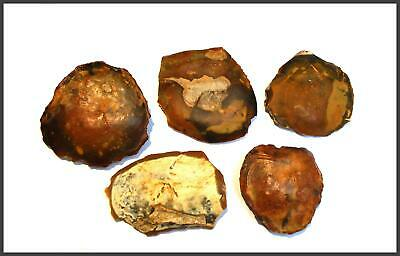 STONE AGE paleolithic mousterian ovate scrapers  British neanderthal tools UK