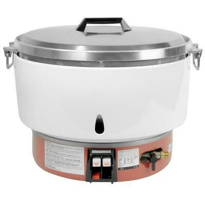 Thunder Group 100 Cup (50 Cup Raw) Liquid Propane Gas Rice Cooker - 35,000 BTU
