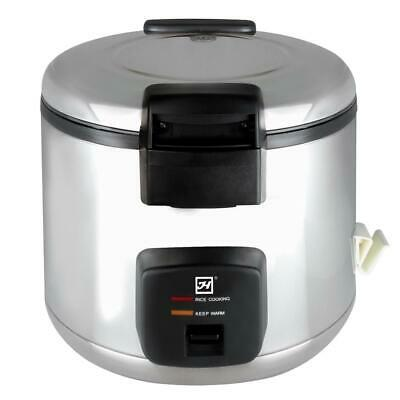 Thunder Group 66 Cup (33 Cup Raw) Electric Rice Cooker / Warmer- 120V, 1780W