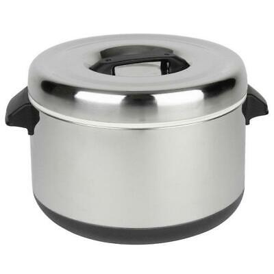 Thunder Group 40 Cup Stainless Steel Insulated Sushi Rice Pot