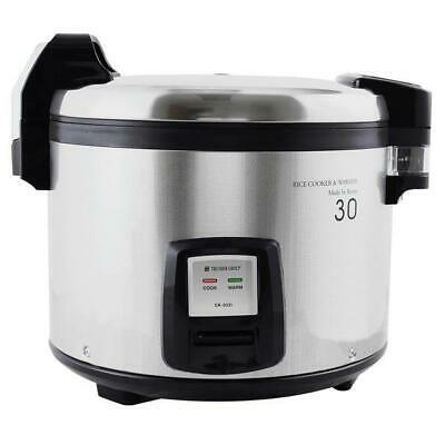 Thunder Group 60 Cup (30 Cup Raw) Electric Rice Cooker / Warmer - 120V, 1460W
