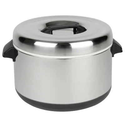 Thunder Group 60 Cup Stainless Steel Insulated Sushi Rice Pot