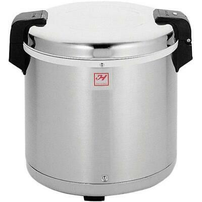 Thunder Group 50 Cup Rice Warmer with Mirror Finish - 120V