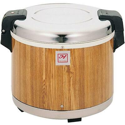 Thunder Group 30 Cup Rice Warmer with Wood Grain Finish - 120V