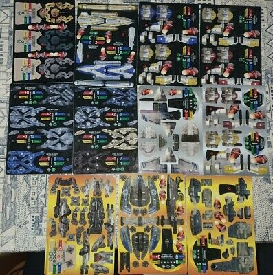 Star Wars Pocketmodel TCG Scum and Villainy Ship Unit Cards