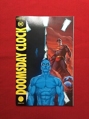 Doomsday Clock 12 Variant Dc Release Date 18 12 19 5 25
