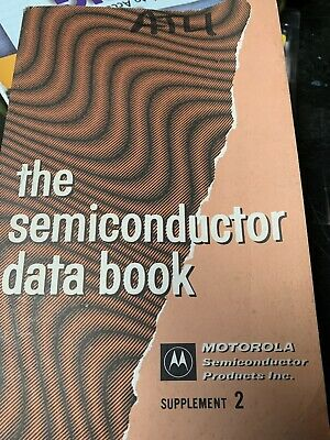 The (Motorola) Semiconductor Data Book (2nd Ed August, 1966)