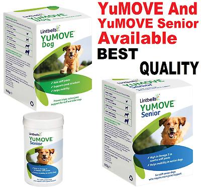 Lintbells YuMOVE Dog Joint Supplement for Stiff and Older Dogs YuMOVE Senior Avl
