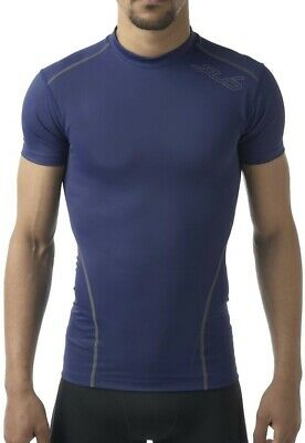 Sub Sports Dual All Seaons Mens Compression Sleeveless Top Yellow