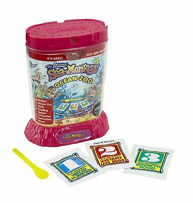 Amazing Live The Original Sea Monkeys Ocean Zoo Marine Aquarium Pink 23223