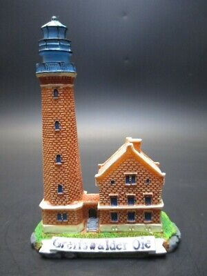 Leuchtturm Greifswalder Oie Ostsee Poly Modell Souvenir Germany Lighthouse