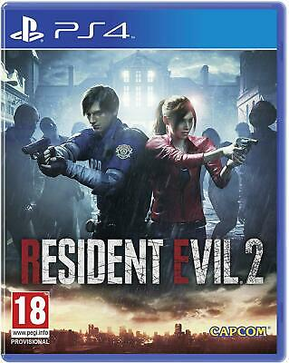 Residente Evil 2 Remake PS4 sony PLAYSTATION 4 Video Gioco - Nuovo e Sigillato
