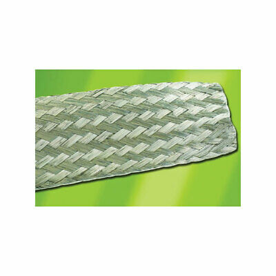 Alpha Wire 1223 SV005 Flat Wire Braided Sleeving 1.19mm (100ft reel)