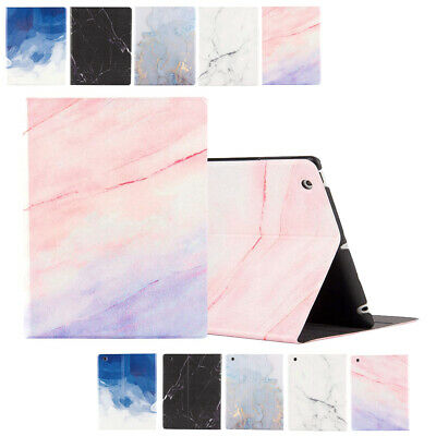 Lightweight Marble Shell Case for iPad 4th 3rd 2 Smart Magnetic Stand Flip Cover