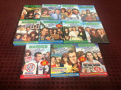 Married... With Children The Complete Series 1, 2, 3, 4, 5, 6, 7, 8, 9, 10 & 11