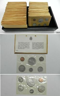 CANADA 1965 5 Piece Proof-Like Mint Set Original RCM Package, Many Available