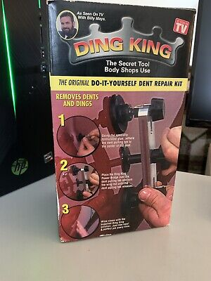 Ding King Do It Yourself Dent Repair Kit - Car Dent Remover Billy Mays, New!