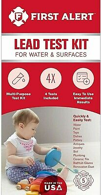 First Alert Lead Test Kit For Water and Surfaces