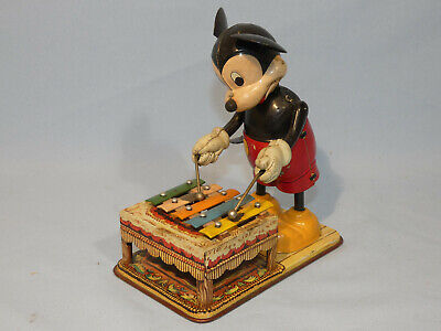 Linemar - Mickey Mouse mit Xylophon (60634)