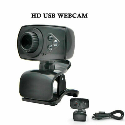 USB HD PC Webcam fotocamera con built-in microfono assorbimento del suono