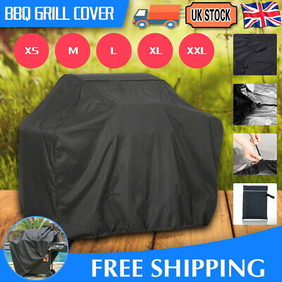M-Xxl Bbq Cover Waterproof Rain Garden Barbecue Grill Heavy Duty Extra Large  Uk