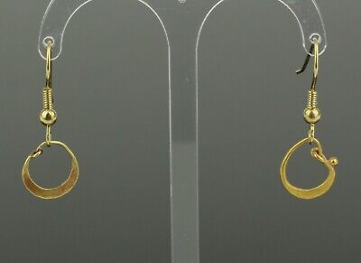 BEAUTIFUL ANCIENT ROMAN GOLD EARRINGS - CIRCA - 1st/2nd Century AD   (011)