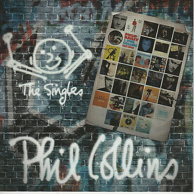 Phil Collins   THE SINGLES  33trk double cd