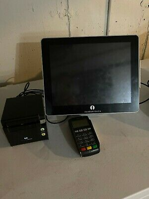 "15"" All in One Touch Screen POS System Restaurant/ Retail Point of"