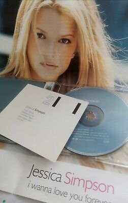 Jessica Simpson - I Wanna Love You Forever (Limited Edition CD)+ Poster/Lyrics