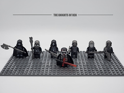 Star Wars The Knights of Ren Kylo Ren Set 7 Minifigures Lot For Lego