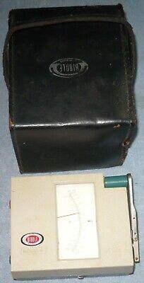 James G. Biddle Co. Megger Meter Cat. No. 21805 W Leather Case Made In England