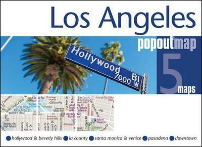 Los Angeles Popout Map (PopOut Maps) by PopOut Maps, NEW Book, FREE & FAST Deliv