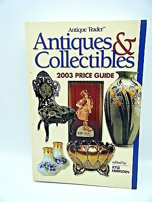 """Collectible Vintage Book """"Antiques & Collectibles 2003 Price Guide"""""""