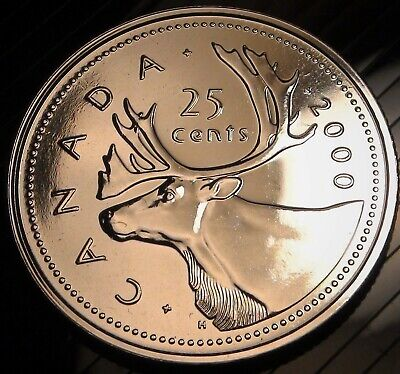 2020 Canada 25 Cents Coin - UNCIRCULATED Canadian Quarter from PROOF-Like SET!