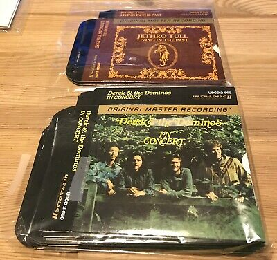 Slipcases & Artwork Mfsl Mobile Fidelity Original Master Recording 24K Gold Cd