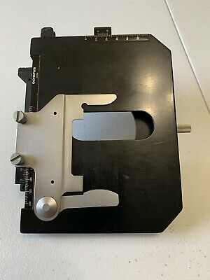 Olympus Mechanical Microscope Stage and Slide Holder BH2 BHTU BHS