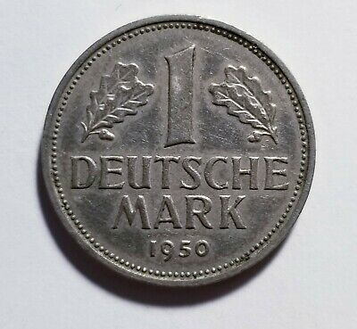 1950-D Germany 1 Deutsche Mark Priced Right Shipped FREE B149