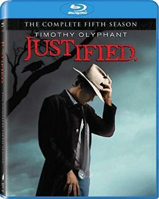 Justified: The Complete Fifth Season [Blu-ray] (Sous-titres français) [Import] [