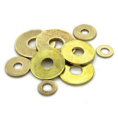M2~M20 Brass Penny Repair Washers Washers Metric Flat Washers High Quality New