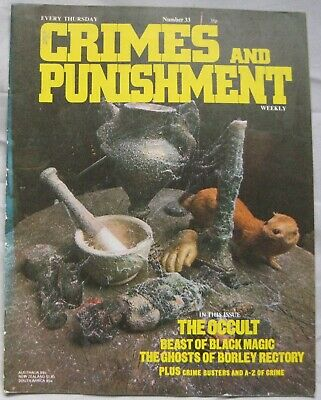 Crimes and Punishment magazine Issue 33 - The Occult