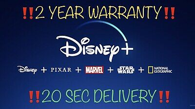 💥Disney+ Plus 💥| WorldWide | 2 Year Subscription | ⚡️!20 SEC Delivery!⚡️