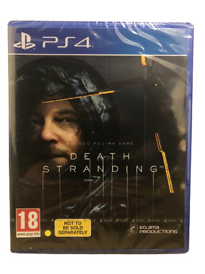 Death Stranding (PS4) New & Sealed - In Stock Now - PAL - Region Free