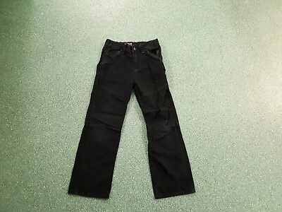 """Next Relaxed Jeans Waist 26"""" Leg 24"""" Black Faded Boys 10Yrs Jeans"""
