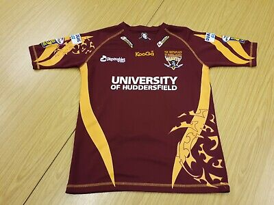 Large HUDDERSFIELD GIANTS RUGBY LEAGUE 1//4 ZIP JACKET  New rrp £45