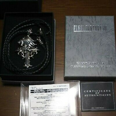 FINAL FANTASY VIII  SLEEPING LION HEART 2003 SQUARE ENIX Silver 925